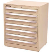 Kennedy 7-Drawer Hybrid Modular Cabinet w/Full Extension Drawers-29x20x31, Tan