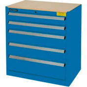 Kennedy 5-Drawer Hybrid Modular Cabinet w/Full Extension Drawers-29x20x31,U Blue