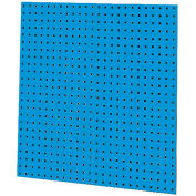 "Kennedy Manufacturing, 50002UB, 2-Panel Square Hole Toolboard Set 36"" x 16"" - Blue"