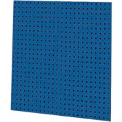 """Kennedy Manufacturing-VTC Series-50002BL-2 Panel Square Hole Toolboard Set 36""""H x 18""""W-Classic Blue"""