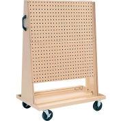 "Kennedy Manufacturing 50104UGY 36-1/4""W x 23-7/8""D Open Tool Trolley w/o Tool holder Set"