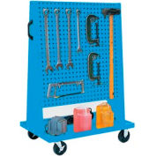 Trolley Based for 4-Panel Square Hole Set - Blue