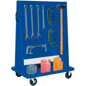 Trolley Based for 4-Panel Square Hole Set - Classic Blue