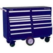 "Kennedy® 5804MPBL 58"" 12-Drawer Roller Cabinet - Blue"