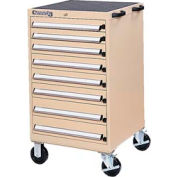 Kennedy® 61750TX 8-Drawer Mobile Modular Cabinet