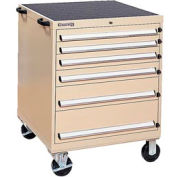 Kennedy® 63350TX 6-Drawer Mobile Modular Cabinet