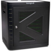 Kensington® Universal Tablet Charge & Sync Cabinet for 10 Devices, Black