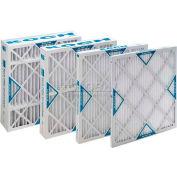 "Koch™ Filter 102-700-025 Merv 8 Std. Capacity Xl8 Pleated Panel Ext. Surface 16""W x 20""H x 4""D - Pkg Qty 6"
