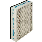 """Koch™ Filter 102-718-209 Multi-Pleat Sg Replacement For Space Guard Merv 11 20""""W x 25""""H x 6""""D - Pkg Qty 2"""