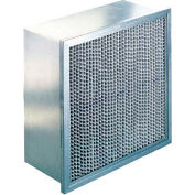 "Koch™ Filter 110-722-010 80-85% Double Header Multi-Cell Extended Surface 12""W x 24""H x 6""D - Pkg Qty 4"
