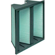"Koch™ Filter 111-501-101 95% DuraMax 2V Extended Surface W/Plastic Frame 24""W x 24""H x 12""D"