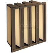"Koch™ Filter 111-692-101 95% DuraMax 4vS Extended Surface Plastic Frame 24""W x 24""H x 12""D"