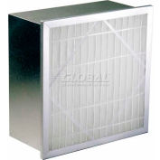 "Koch™ Filter 112-660-003 90-95% Sgl Header Multi-Flo Series S Ext. Surface 24""W x 24""H x 6""D - Pkg Qty 2"