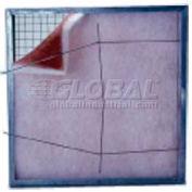 "Koch™ Filter 116-700-006 Pad Holding Frame 24 Ga. Frame 10 Ga. Hinged-Gate 12""W x 24""H x 1""D - Pkg Qty 24"