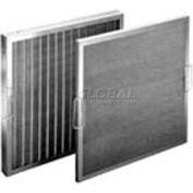 """Koch™ Filter 118-700-007 Permanent Metal Washable Steel Wire Mtl Cloth Media 16""""W x 25""""H x 2""""D - Pkg Qty 6"""