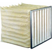"Koch™ Filter 208-104-218 85% Synthetic Extended Surface Multi-Sak, 4 Pkts 18""W x 24""H x 12""D - Pkg Qty 8"