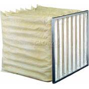 "Koch™ Filter 208-110-122 85% Synthetic Extended Surface Multi-Sak 10 Pkts 24""W x 24""H x 22""D - Pkg Qty 4"