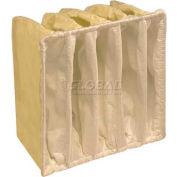 """Koch™ Filter 209-506-115 E-Pak 950 5 Pkt Paint Booth Exhaust Final Filter 24""""W x 24""""H x 15""""D - Pkg Qty 10"""