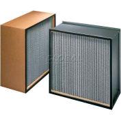 """Koch™ Filter H62G3X1 99.99% Biomax Hepa Ultrafine Glass Fiber Paper Md. 12""""W x 24""""H x 11-1/2""""D - Pkg Qty 2"""