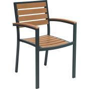 KFI Eveleen Outdoor Arm Chair - Mocha