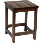 "KFI 24"" Counter Height Wood Stool - Walnut"