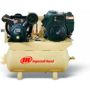 Ingersoll Rand 2475F14G, 14 HP, Stationary Gas Comp, 30 Gal, 175 PSI, 24 CFM, Kohler,Electric/Recoil