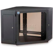Kendall Howard™ 12U Corner Wall Mount Cabinet