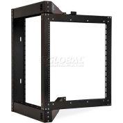 Kendall Howard™ 12U Phantom Class Open Frame Swing-Out Rack