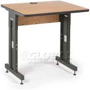 "Kendall Howard™ - Advanced Classroom Training Table 30"" x 36"" - Caramel Apple"