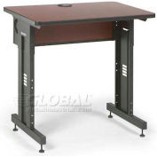 "Kendall Howard™ - Advanced Classroom Training Table 24"" x 36"" - Serene Cherry"