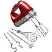 KitchenAid® 9-Speed Digital Hand Mixer, Turbo Beater™ II Acc. Candy Apple Red KHM926CA
