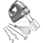 KitchenAid® 9-Speed Digital Hand Mixer, Turbo Beater™ II Acc. Contour Silver, KHM926CU