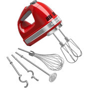 KitchenAid® 9-Speed Digital Hand Mixer, Turbo Beater™ II Acc. Empire Red, KHM926ER