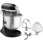 KitchenAid KSMC895OB - Commercial 8 Qt. Stand Mixer With Bowl Guard, Onyx Black, NSF