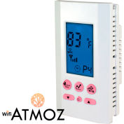 King Electric Wi-Fi Smart Thermostat ATMOZ1-240-WIFI Programmable Single-Pole Heat Only 240V 16A