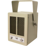 King Pic-A-Watt® Unit Heater KBP1230, 2850W Max, 120V, 1 Phase, Almond