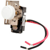 King Replacement Thermostat Single Pole TKIT-1BW White For In-Wall Electric Heaters