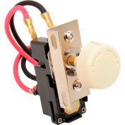 King Replacement Thermostat Double Pole TKIT-2A Almond For In-Wall Electric Heaters