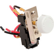 King Replacement Thermostat Double Pole TKIT-2BW White For In-Wall Electric Heaters