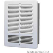 King Forced Air Wall Heater W1210-W, 1000W, 120V, White