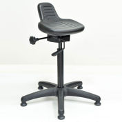 Interion® Ergonomic Standing Stool, Black, 250 Lb. Capacity