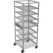 Lockwood CR69-7-Aluminum Can Rack, 84(#10Cans)