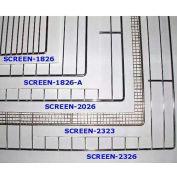 "Lockwood Bakery Screens, 1""H x 18""W x 26""D- SCREEN-1826"