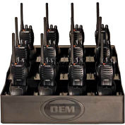 FuelPad12™ 12-Unit Battery Charger and Desktop Organizer For Radios, Cell Phones, Power Tools