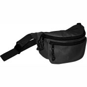 Kemp Fanny Pack With Screenprint Guard, Black, No Logo, 10-103-BLK-NL