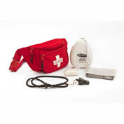 Kemp Guard First Responder Hip Pack, 10-103-RED-S2