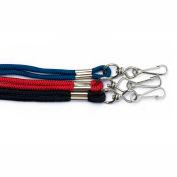 Kemp Whistle Rope Lanyard, Black, 10-429-BLK