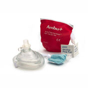 Ambu CPR Mask in Red Pouch, 10-517