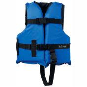 Kemp Child Universal Life Vest, Royal Blue & Black, 20-002-CHILD-BLU