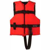 Kemp Child Universal Life Vest, Red & Black, 20-002-CHILD-RED